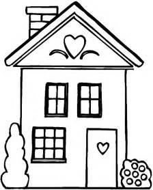 dibujo de una casa recurso educativo 97798 tiching