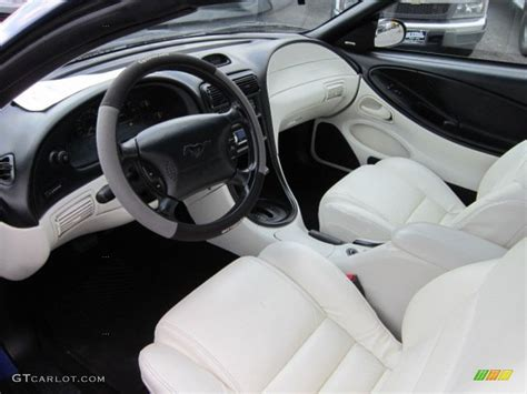 1995 Mustang Gt Interior by White Interior 1995 Ford Mustang Gt Convertible Photo