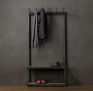 Bench Coat Hanger - coat rack bench 3
