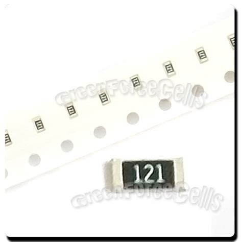 0603 resistor voltage 500 x smd smt 0603 chip resistors surface mount 120r 120ohm 121 5 1 10w rohs