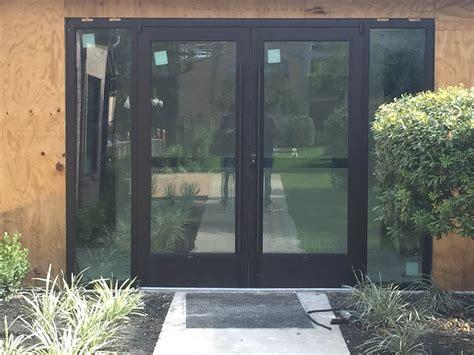 Commercial Glass Doors Houston M I Glass Inc Houston