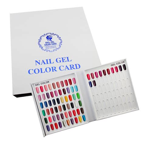 Nail Book by Makartt Professional Nail Color Book Nail Display