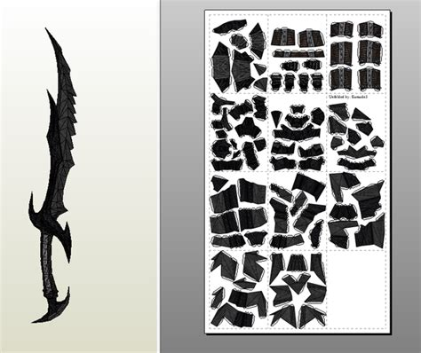 daedric sword pdo by kuraudo3 on deviantart