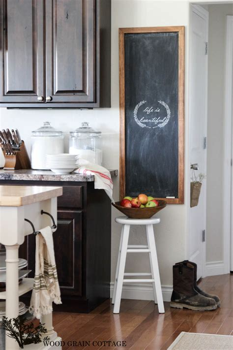 diy chalkboard wood diy chalkboard the wood grain cottage