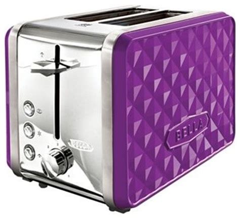 Purple Toaster Oven Diamonds 2 Slice Toaster Purple Contemporary