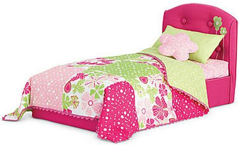 american doll bed american girl doll bloom bed and bedding set for dolls ebay