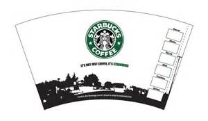 starbucks coffee cup template starbucks cup by sparkyd99 on deviantart