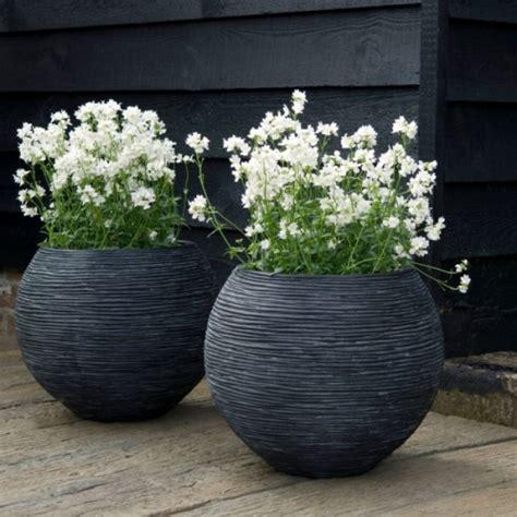 fibre clay large outdoor planters passion  pots
