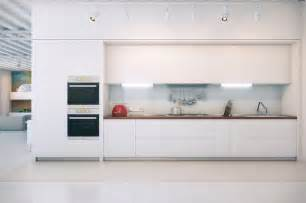 Modern Kitchen With White Cabinets Contemporary White Kitchen Interior Design Ideas