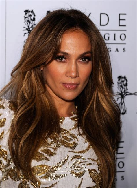 jennifer lopez long hairstyle with layers hairstyles weekly