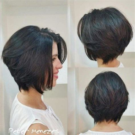 how to layer own hair for small chin 17 best images about hair short on pinterest inverted