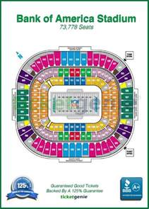 bank of america stadium seat map 12 best popular nfl stadium seat maps images on