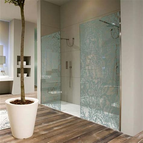 glass screens for bathrooms wall paper decorative shower glass enclosure by antonio