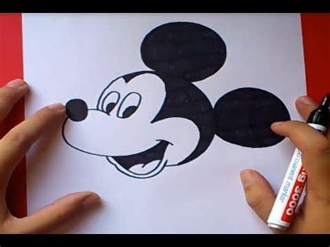 imagenes de amor para dibujar de miki maus como dibujar a mickey mouse paso a paso 2 disney how