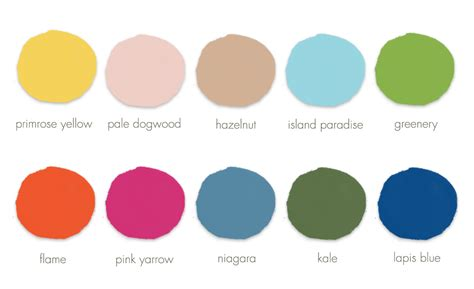 2017 color schemes spring wedding colors for your 2017 spring wedding