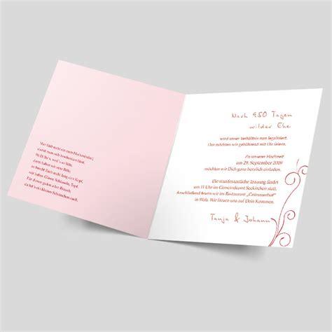 Hochzeitseinladungen Rot by Hochzeitseinladung Stilisierte Rot