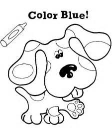 coloring pages kids nick jr blues clues cartoon coloring pages pagestocoloring