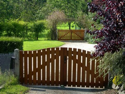 wooden backyard gates wooden garden gates decosee com