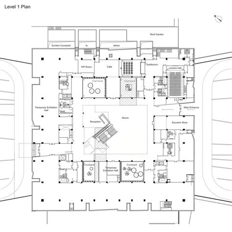 museum floor plan requirements yunnan museum rocco design architects archdaily