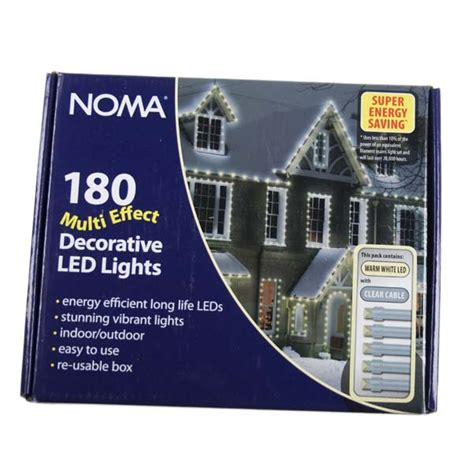 Noma Low Voltage Outdoor Lighting Noma 14 32m Length Of 180 Warm White Indoor Outdoor Multi Function Low Voltage Led