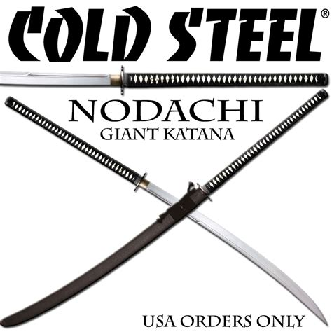 cold steel sword review cold steel warrior series nodachi