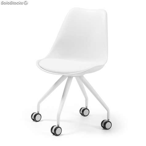 sillas con ruedas para escritorio silla escritorio oficina blanca con ruedas