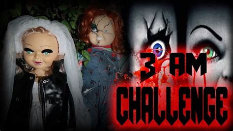 haunted doll hide and seek possessed chucky doll tiff 3 am overnight challenge