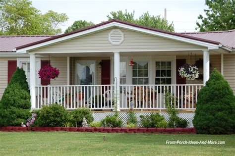 exterior mobile home improvements porch designs for