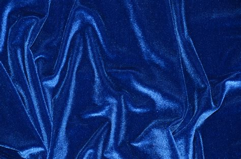 royal blue curtain fabric spandex stretch velvet bolts