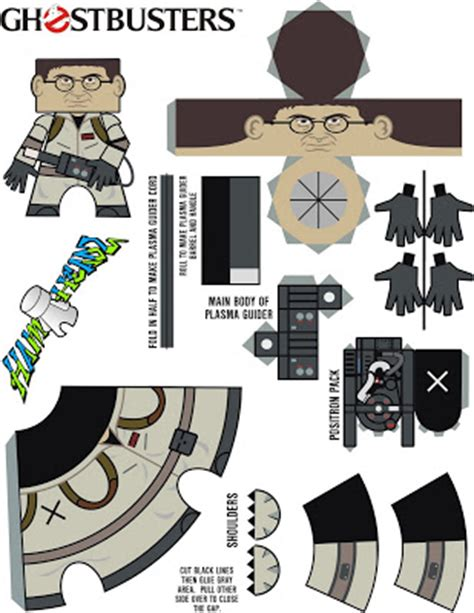 Ghostbusters Papercraft - bongo papercraft ghostbusters
