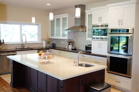 kitchen island layouts and design five basic kitchen layouts homeworks hawaii