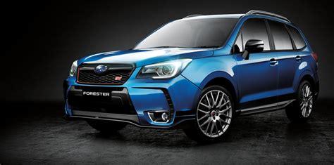 Subaru In Australia 2016 Subaru Forester Ts 54 990 Sti Special In Australia