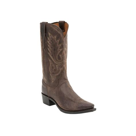 mens boots lewis lucchese lewis boots in chocolate d d outfitters