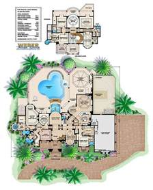 mar a lago home plan luxury mediterraniean home design
