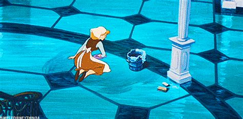 cinderella cleaning gif  gif images