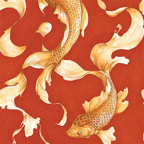 Half Bath Designs koi fish wallpaper lelands wallpaper