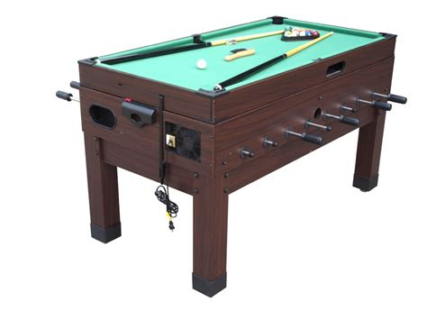 foosball and pool table 13 in 1 combination game table in espresso the danbury