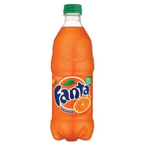 Fanta Orange 20 oz Plastic Bottles   Pack of 24