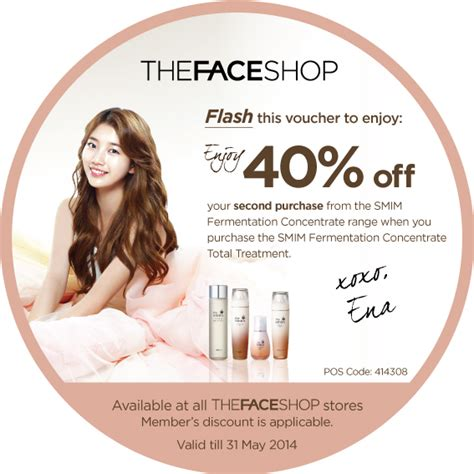 Cotton On Ena thefaceshop introduces the smim fermentation concentrate
