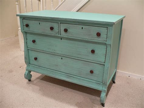 Shabby Chic Turquoise Dresser by Chic And Shabby Beachy Aqua Dresser