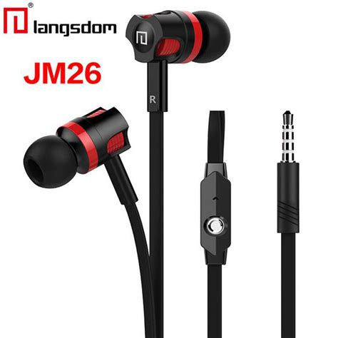 New Resong Q12 Bass Wired Headset With Mic Ttk525 original langsdom jm26 in ear earphone wired 3 5mm sport headset bass stereo earphones