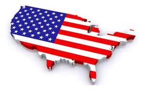 usa map and flag usa flag on map 1680x1050 238972