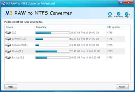 format raw file system to ntfs m3 raw to ntfs converter pro 100 discount