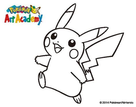 imagenes para colorear de pokemon xy dibujo de pikachu en pok 233 mon art academy para colorear