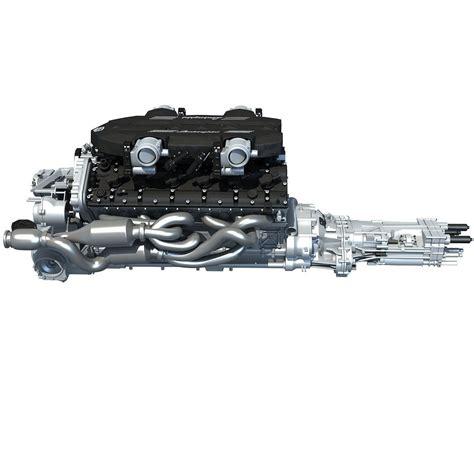 lamborghini v12 engine v12 engine lamborghini 3d models cgtrader com