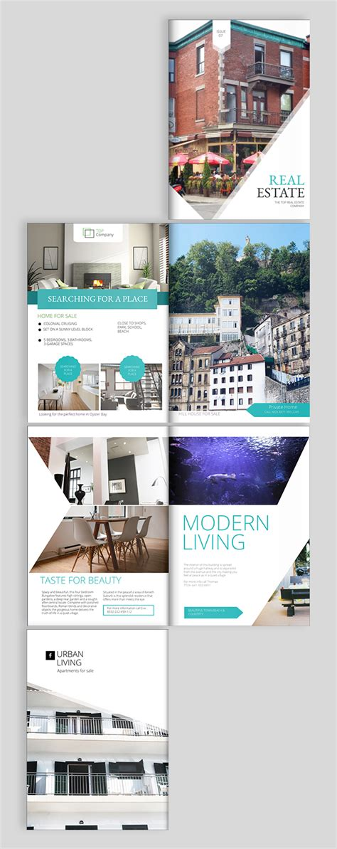 Real Estate Brochure Design Templates And Ideas Real Estate Templates