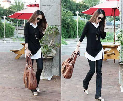 Baju Lorek Hitam Putih baju atasan hitam putih modis 2016 jual model terbaru murah