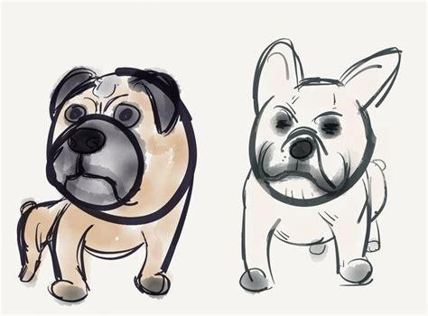 pug vs bulldog pug vs bulldog by duckhugh on deviantart
