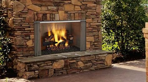 Monessen Fireplace Review by Monessen Villawood Outdoor Wood Burning Fireplace 36 Inch