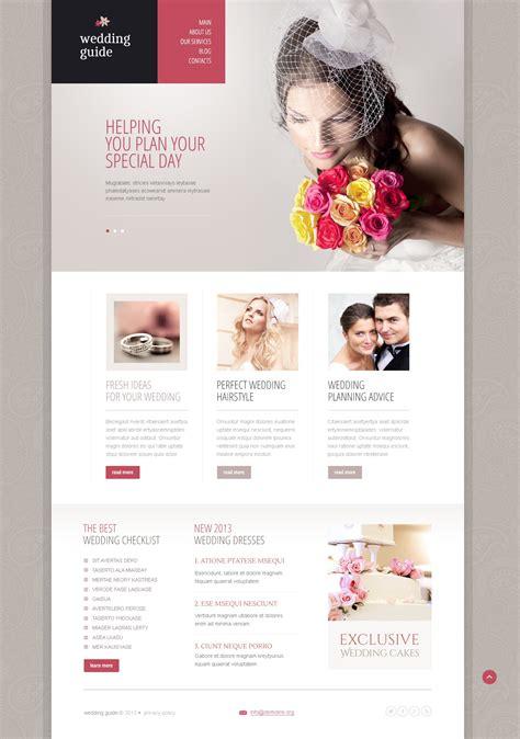 Drupal Themes Wedding | elegant wedding planner drupal template 44568
